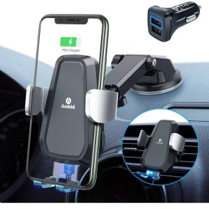 Andobil Auto Clamping Wireless Car Charger Mount Best Wireless Car Chargers