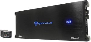 Rockville dBcomp5 Car Audio Amp