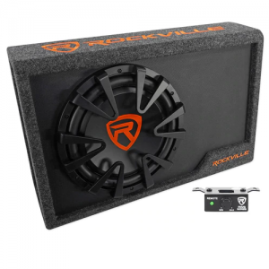 Rockville Rws12ca Powered Car Subwoofer