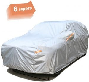 SEAZEN 6-Layer, Waterproof SUV Car Cover