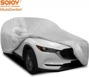 Sojoy Thick Multi-Layered Car Cover