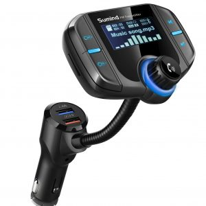 Sumind Car Bluetooth FM Transmitter