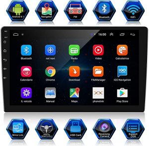 Ankeway 10.1 Inch Android 9.1 Car Stereo