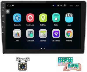 Hikity 10.1 Inch Android Car Stereo