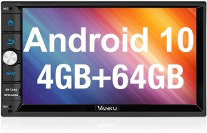 Vanku Android 10 Car Stereo Double Din